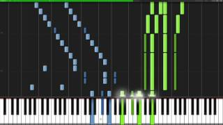 Ode to Joy (Symphony No. 9 4th Movement) - Ludwig van Beethoven [Piano Tutorial] (Synthesia)