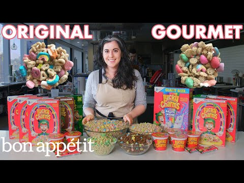 Pastry Chef Attempts To Make Gourmet Lucky Charms | Gourmet Makes | Bon Apptit