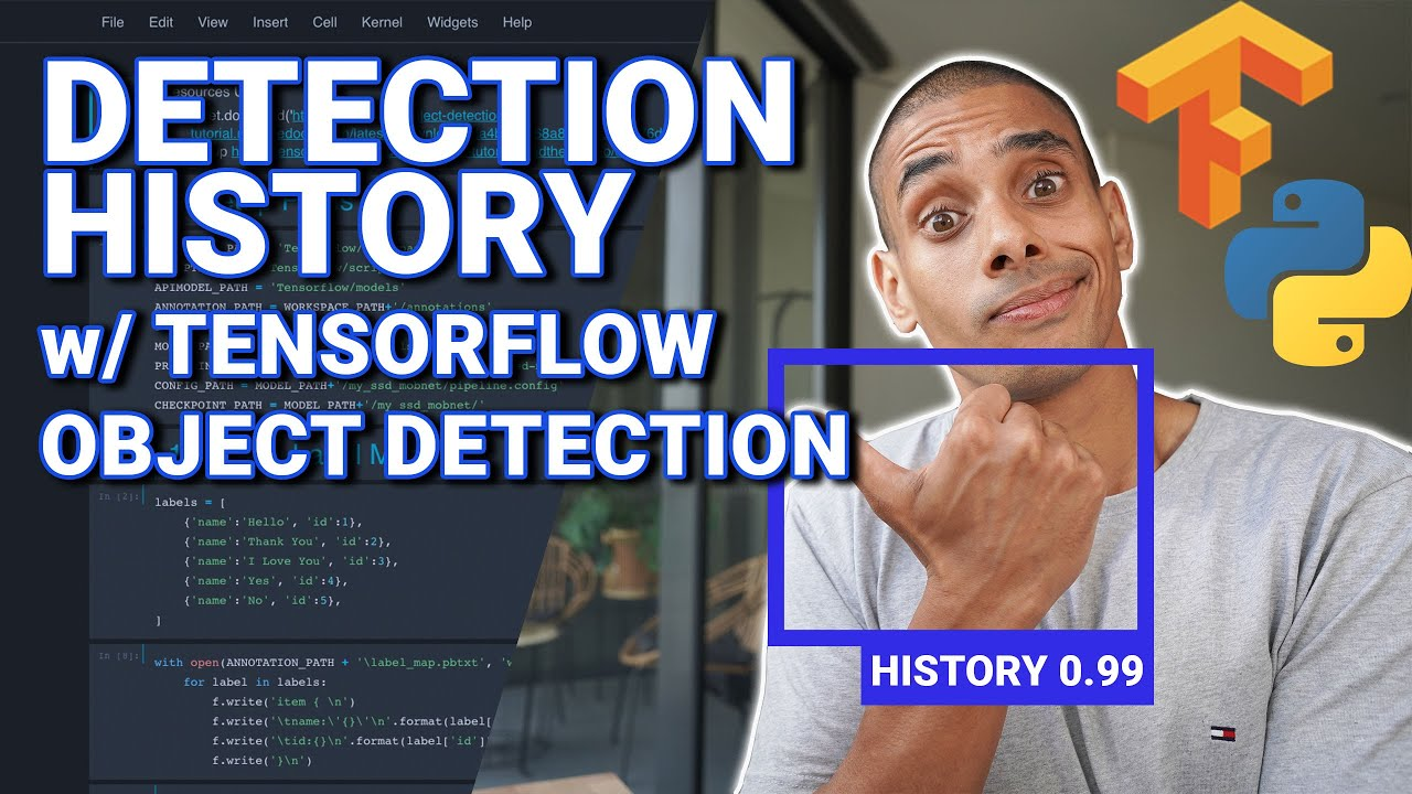 Capturing Object Detection History with Tensorflow Object Detection and Python