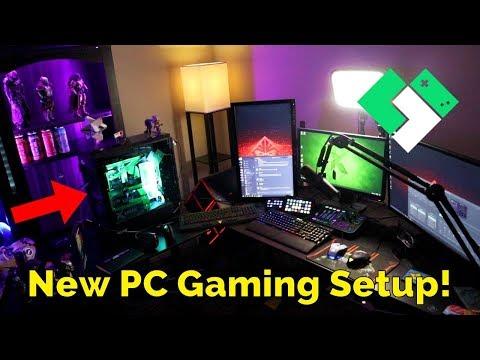 My New Gaming Setup | Clintus.tv