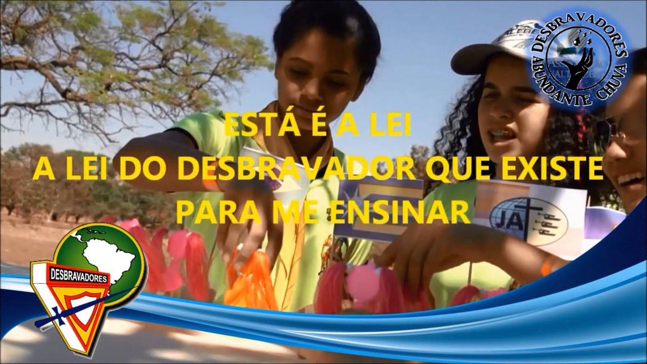 Famosos 13 A LEI DO DESBRAVADOR - DESBRAVADORES - YouTube UD25