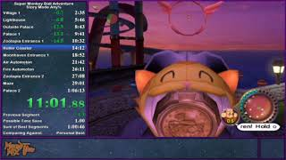 Super Monkey Ball Adventure Story Mode Any% Speedrun in 1:03:37