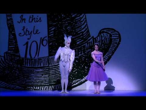 The Royal Ballet artists on Alice's Adventures in Wonderland