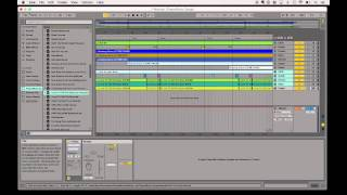 How to create a worship set of multiple songs in Ableton Live