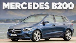 Тест Mercedes-Benz B klasse 2019