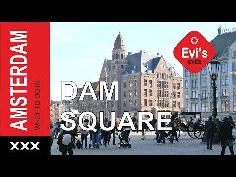 What to do in Dam Square Amsterdam