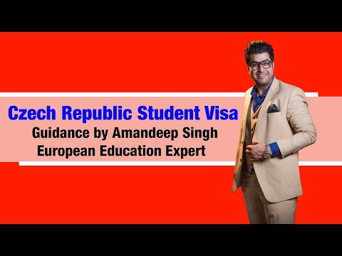 Czech Republic Student Visa Guidance by Amandeep Singh( Euro