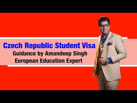 Czech Republic Student Visa Guidance by Amandeep Singh( European Education Expert )
