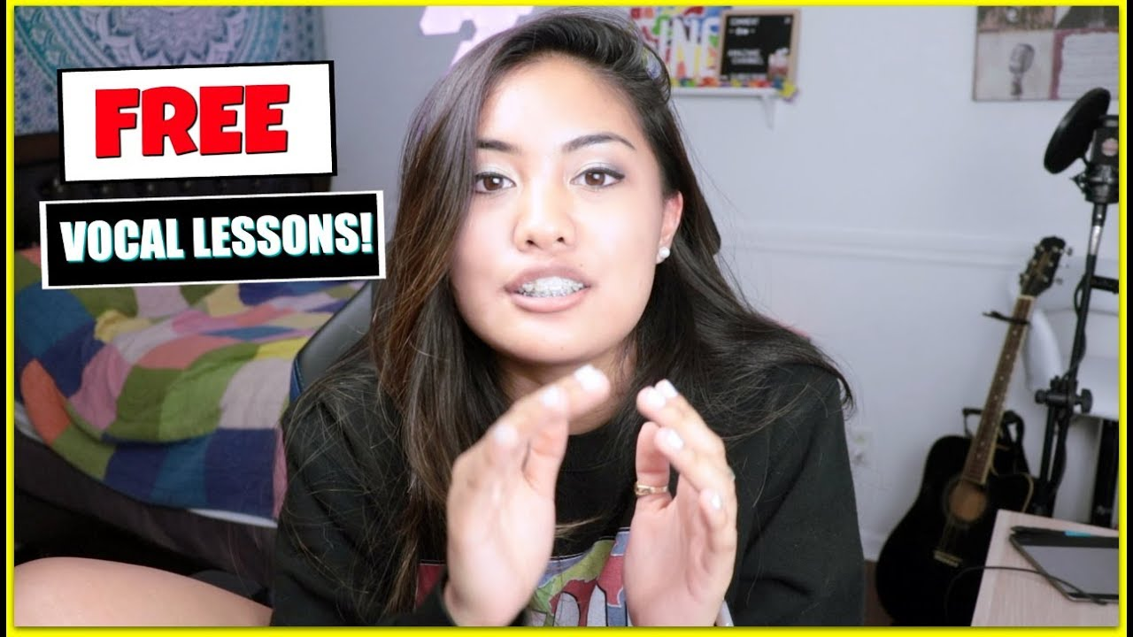 How I Get FREE Singing Lessons ONLINE!