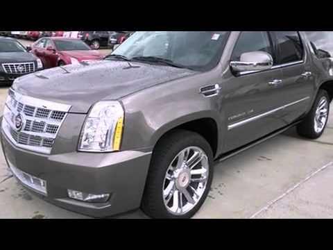 2013 Cadillac Escalade Esv Platinum Edition Youtube