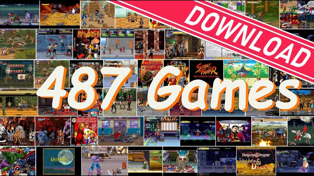 😍Download 487 OpenBOR Games