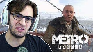 METRO EXODUS #2 - Fugindo de uma Igreja de Lunáticos! (Gameplay em Português PT-BR)