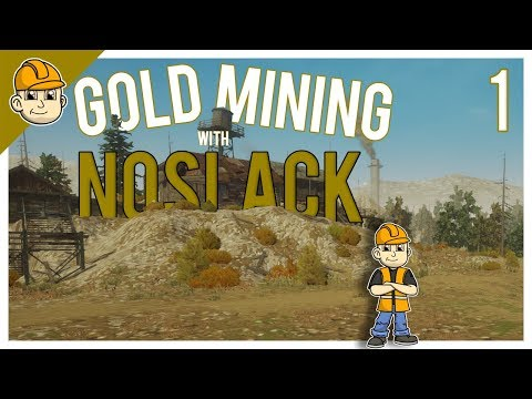 Gold Rush - New Gold Mining Operation! - Ep.1 - Let's Play Gold Rush: The Game Gameplay