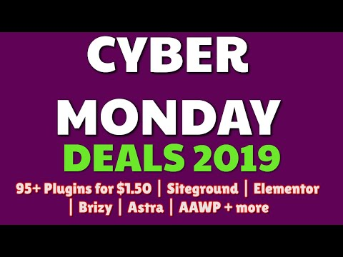 Cyber Monday Deals 2019 | Newsomatic + more ending in hours thumbnail