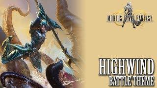 Mobius Final Fantasy OST Highwind Battle Theme ( Cosmos Striker )