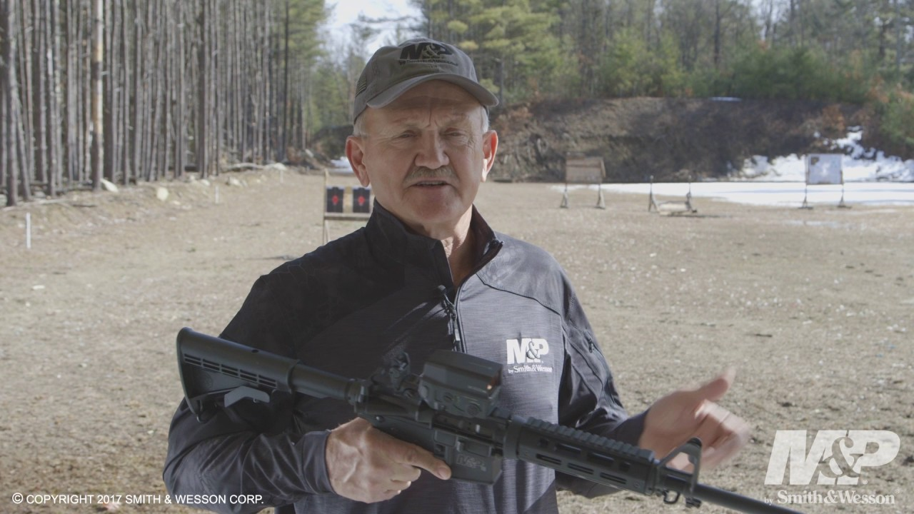 Smith & Wesson M&P15 X Rifle with Jerry Miculek