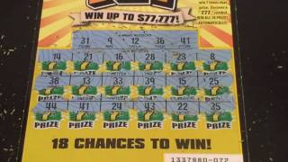 WE NEVER WON THIS PRIZE BEFORE!! Winning 777 $5 California Lottery Scratcher | charlott sklar