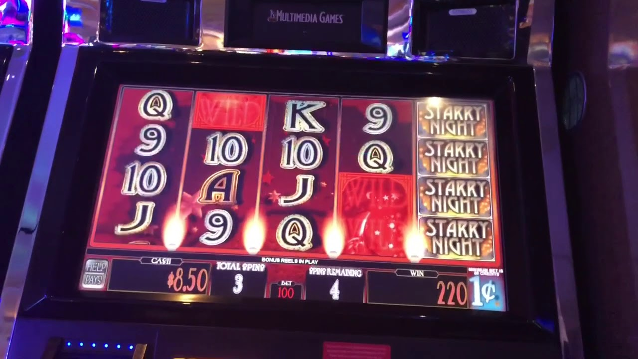 Starry Night Slot Machine Picking And Free Spins Bonuses Youtube