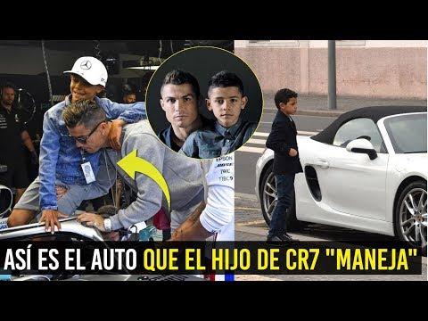 ASÍ ES EL AUTO QUE EL HIJO DE CR7 'MANEJA' El Dinero Todo lo Puede 🚘 | CR7JR