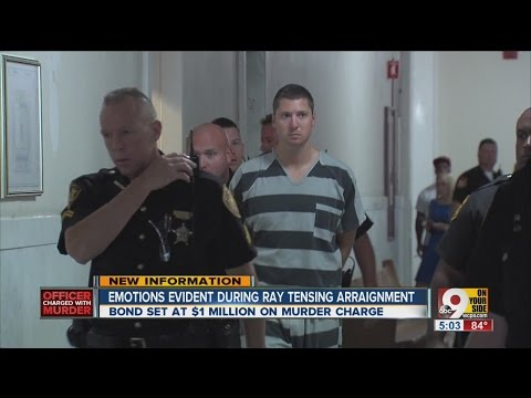 Cincinnati Police Officer Ray Tensing Pleads Not Guilty To Murder Charge, Held On $1 Million Bail!