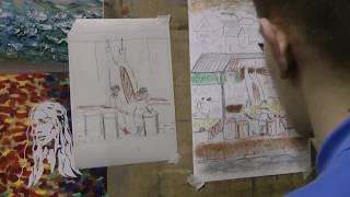 Уроки рисования в художественной студии