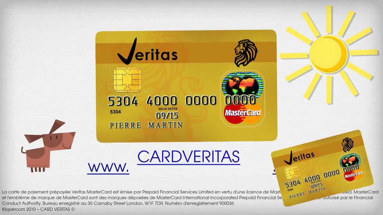 Carte Bancaire Prepayee Rechargeable Caisse Depargne.Carte Veritas Prepayee Mastercard Version France Youtube