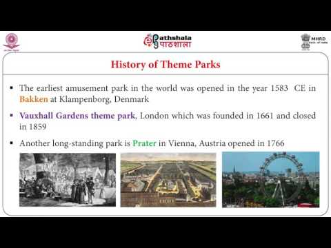 Theme Park Tourism in India