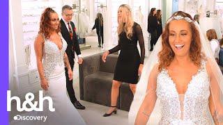 Novia quiere brillar como una Kardashian pero su mamá tiene dudas   Vestido de Novia   Discovery H&H