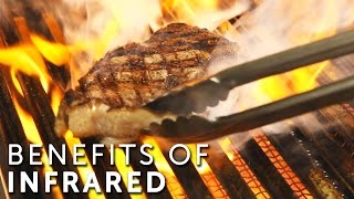 Benefits of Infrared Grills  Burners  What is an Infrared Grill  BBQGuyscom