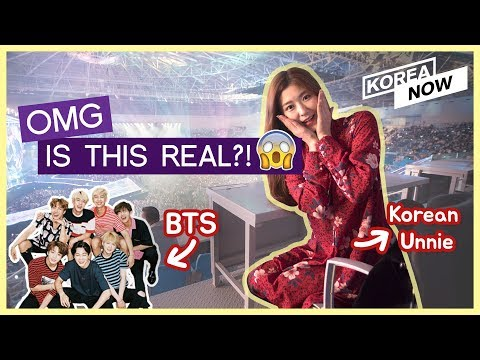 Korean Unnie is with BTS, Wanna One, and TWICE! (MGA 2018 Award Vlog)