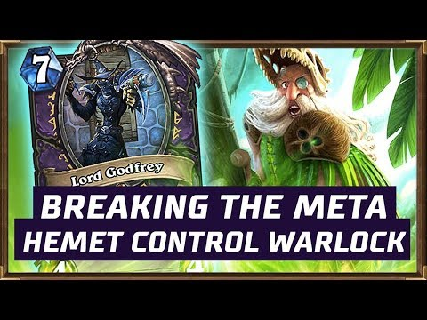 Breaking The Meta With Hemet Control Warlock | The Witchwood | Hearthstone