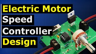 Motor speed controller tutorial - PWM how to build