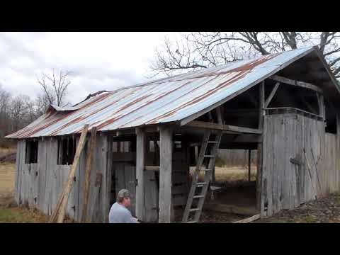 Barn Tear Down - Part 1 (The Beginning)