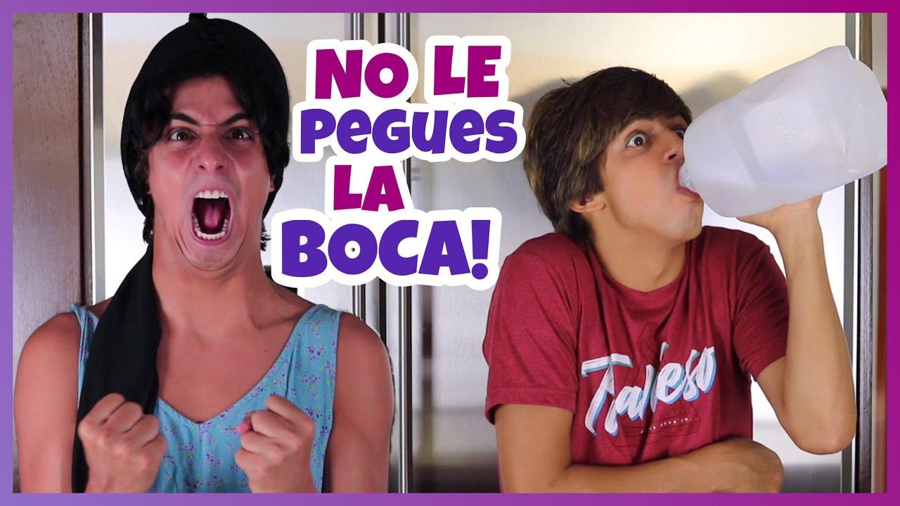 Download Daniel El Travieso - Mami Se Enoja Cuando Le Pego La Boca Al Galón.