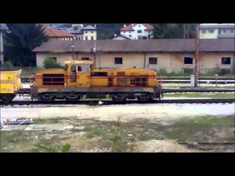 Treno cantiere Segeco a Belluno