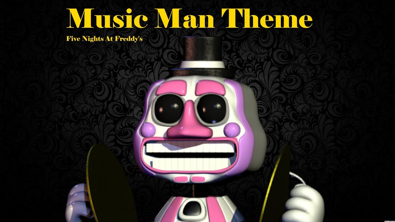 Five Nights At Freddys Music Man Theme Youtube