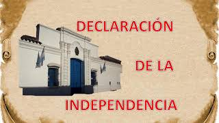 9 De Julio De 1816: Día De La Independencia Argentina En Dos Minutos. Video Educativo Para Niños.