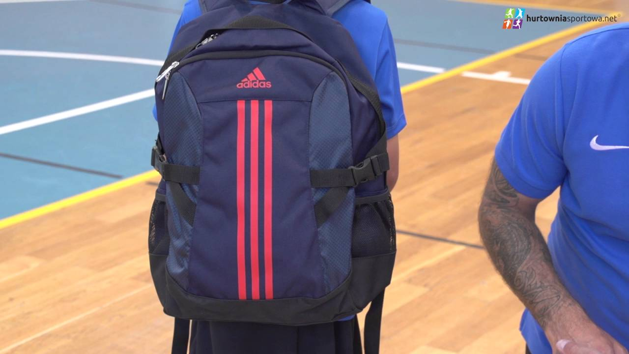 1fece40a21 Plecak adidas Power Backpack 2 M AJ9441 - YouTube