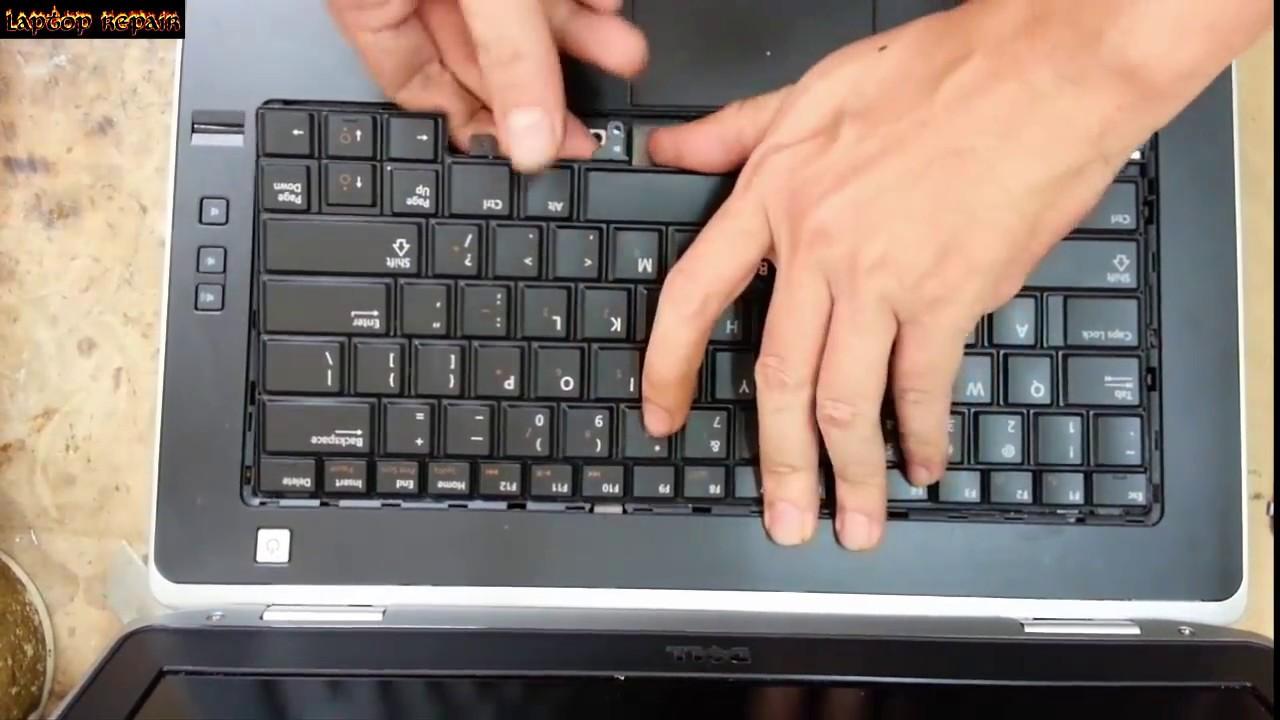 Dell Latitude E6330 keyboard replacement - laptop repair