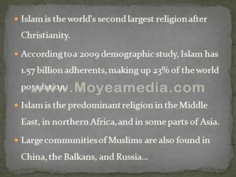 LIST OF COUNTRIES BY MUSLIM POPULATION