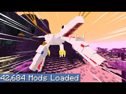 Minecraft but I downloaded every single mod...