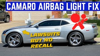 I FIXED The $1,000 Airbag Problem EVERY 5th Gen Camaro Should Be RECALLED For