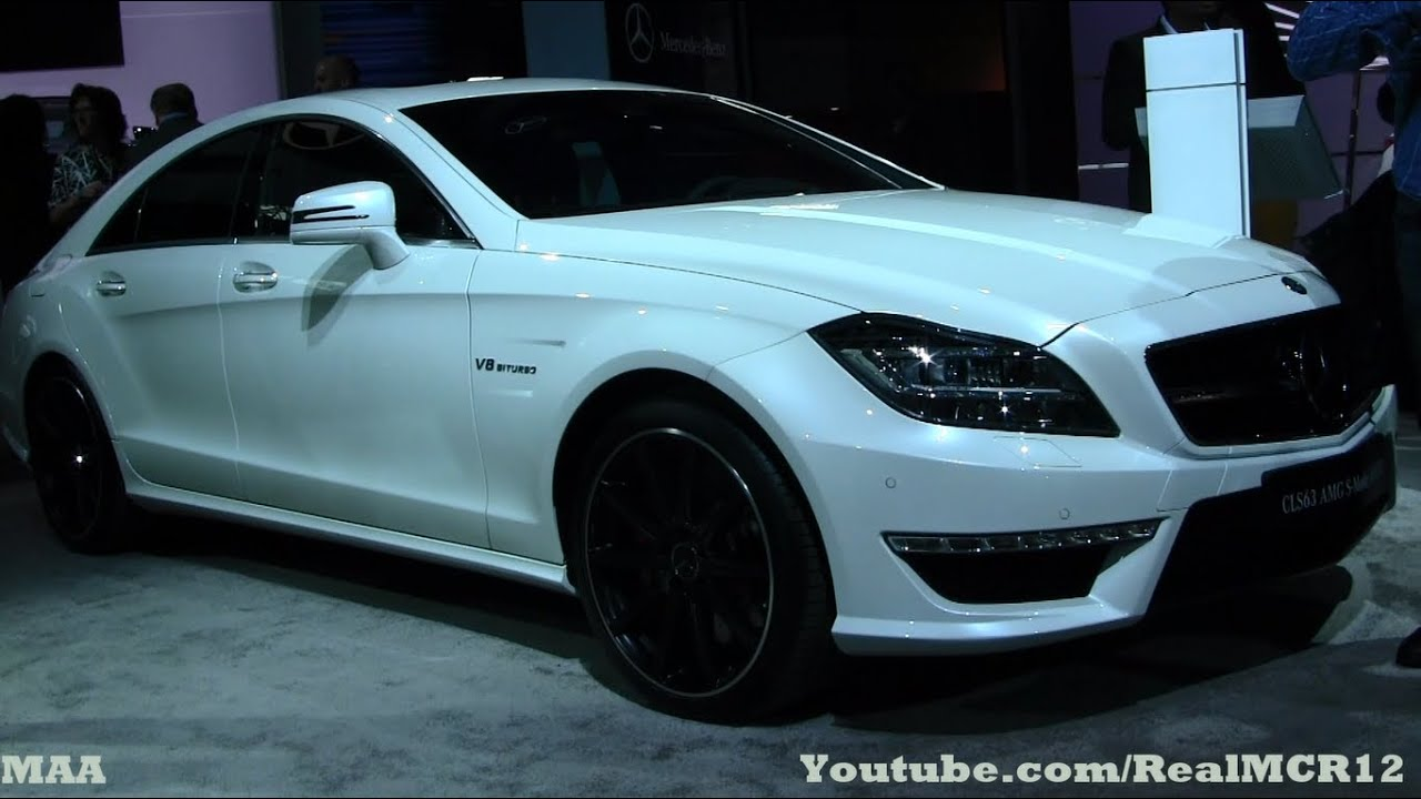 2014 mercedes benz cls 63 amg v8 biturbo nyias youtube. Black Bedroom Furniture Sets. Home Design Ideas