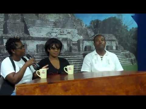 Tanya Stephens interview @ TV Belize November 2011