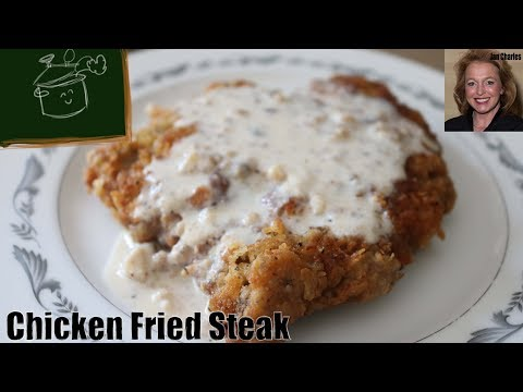 How to Make Real, Southern Chicken Fried Steak - The Best Chicken Fried Steak and Gravy!