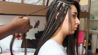BOX BRAIDS TUTORIAL || TRANÇAS AFRICANAS