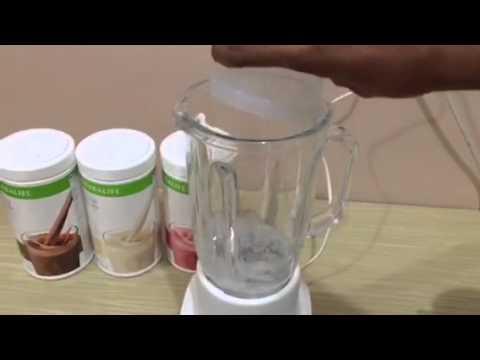 Cara Membuat Shake Herbalife (Simple)