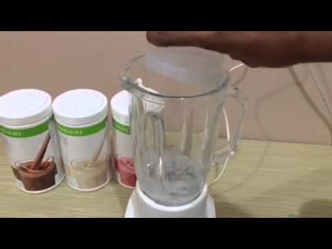 Cara Membuat Shake Herbalife (Simple)