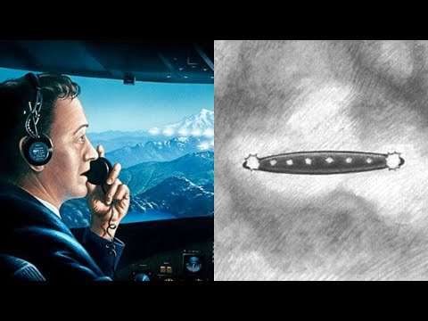 The Pilots UFO Encounter at 30,000 Feet on American West Airlines Flight 564 (1995) - FindingUFO