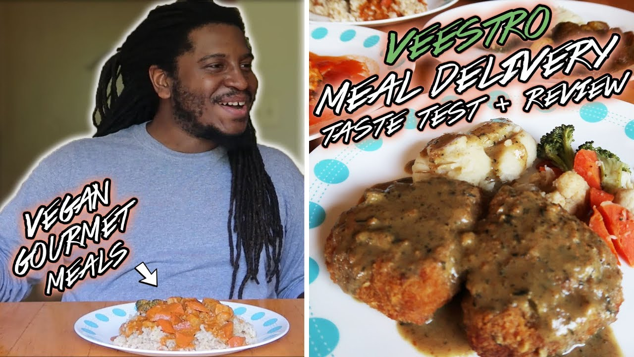 He tried GOURMET VEGAN MEAL DELIVERY! |  Veestro Review